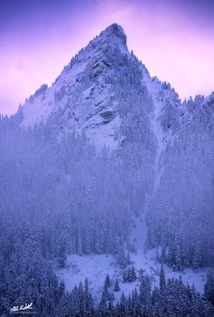 """Alpenglow - This image comes from McClellan Butte in Snoqualmie Pass, WA. The sunset was absolutely gorgeous but brief as ever. This Alpenglow really only lasted about 10-15 minutes before being swallowed up by low clouds and fog. This is the summit of McClellan Butte; it's a single shot at 214mm. Hope you enjoy it!  Feel free to check out my website for print and workshop information:  <a href=""""http://cwexplorationphotography.com/"""">Website</a> Purchase Prints <a…"""