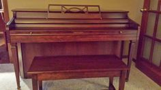 Whitney Kimball spinet for donate, so that means it's free. :-)  Added 3/17/14 http://goldenpiano.biz/blog/piano-for-donate-whitney-kimball-spinet-free/