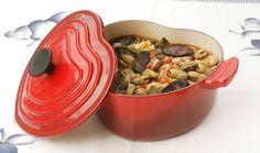Receitas práticas de culinária: FAVAS COM CHOURIÇO