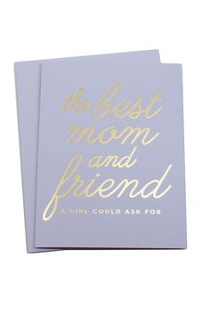 Awww. This card is guaranteed to bring the tears.