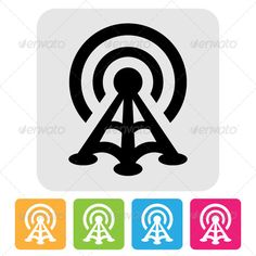 Realistic Graphic DOWNLOAD (.ai, .psd) :: http://vector-graphic.de/pinterest-itmid-1004736860i.html ... Radio Tower Symbol ...  Communication Tower, antenna, black, broadcasting, communication, computer network, icon, isolated, radio, radio tower, radio wave, sign, symbol, technology, telecommunication equipment, tower, wireless  ... Realistic Photo Graphic Print Obejct Business Web Elements Illustration Design Templates ... DOWNLOAD…