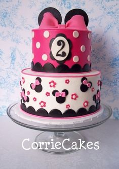 minnie mouse handmade party ideas   Minnie and Micky Mouse Party Ideas / Minnie Mouse Cake