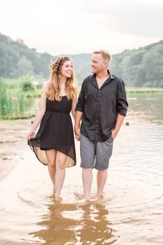 Rustic Pittsburgh engagement session at a river   Danielle Durbin Film & Video Wedding Film, Wedding Bands, Film Video, Eclectic Wedding, Destination Wedding Photographer, Pittsburgh, Engagement Session, Wedding Inspiration, River
