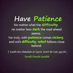 233 Best Patience Images Allah Islam Islamic Quotes Alhamdulillah