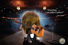 "Abraca Lab - ""Courtney, mi passi il phon?""  -Kurt Cobain  ..."
