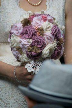 Ramo de novia crochet