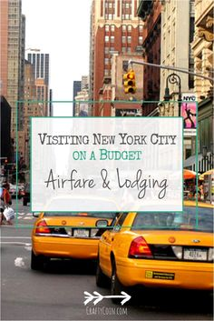 Traveling to New York City doesn't have to be expensive. Here are my tips for getting affordable airfare and lodging in the Big Apple!