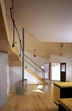 Find architects in the US Amazing Architecture, Interior Architecture, Exterior Design, Interior And Exterior, Steven Holl, Architect House, Home Additions, Minimalist Interior, Stairs