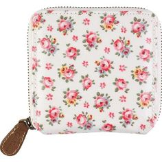 Hampton Rose Small Zip Wallet by Cath Kidston $28.00