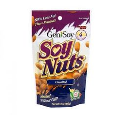 Healthy Snack: Genisoy Soy Nuts Unsalted-Shape Magazine