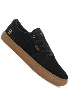 Etnies Barge LS Shoes (black gum) Scarpe Nere fefa4f848c3