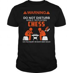 Awesome Tee PLAYING CHESS Shirt; Tee