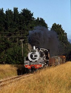 Class 24 3627 on daily goods. Swartvlei station