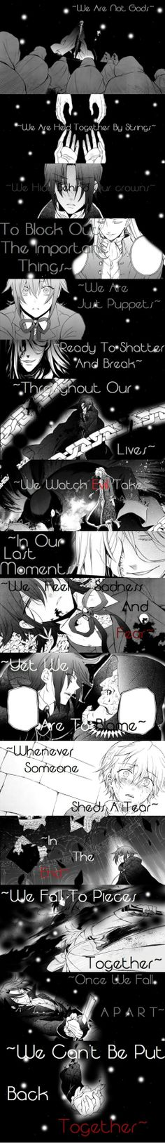 """We Are Not Gods"" by BornToRuleBuiltToFall 
