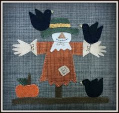 Pattern for the 2016 Harvest Mystery Quilt BOM Blog Hop by Debbie Busby of Wooden Spool Designs in Troutdale, Oregon.