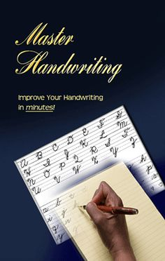 http://www.awesomehandwriting.com Are you looking for the quickest and easiest way to improve your   handwriting, this course will show you how