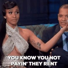 cardi b you know you not paying they rent