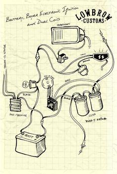 wiring diagram for triumph bsa with boyer ignition tut rh pinterest com Amplifier Wiring Diagram Amplifier Wiring Diagram