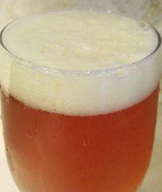 hoppy saison home-brewed