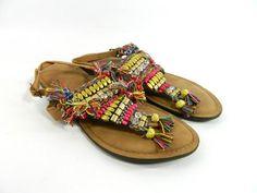 Zapatos Ojotas Mujer Verano India Hippie Chic Magali Shoes - $ 899,00 en MercadoLibre