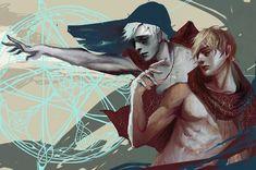 Коул,DA персонажи,Dragon Age,фэндомы