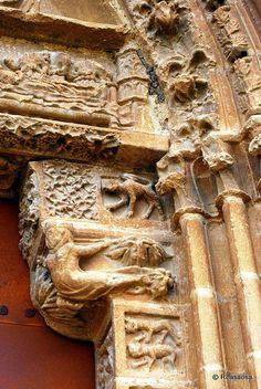 Iglesia-fortaleza de San Saturnino, Artajona, Navarra Spain