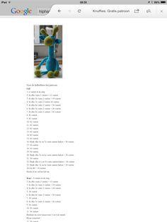 Haakpatroon giraffe 4/4
