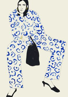 "Rosie McGuinness is an illustrator who lives in London and ""works at the point where fashion drawing meets life drawing"" # Fashion illustration Rosie McGuinness · Miss Moss Illustration Mode, Fashion Illustration Sketches, Fashion Sketches, Drawing Fashion, London Illustration, Fashion Painting, Portrait Illustration, Street Style Shop, Miss Moss"