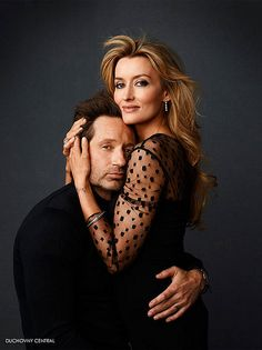 David Duchovny and Natascha McElhone ~Californication