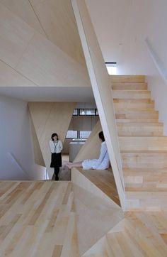 New Kyoto Town House, Kyoto, 2010 - Alphaville Architects