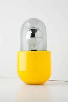 Submarine Yellow Time Capsule Base from Anthropologie