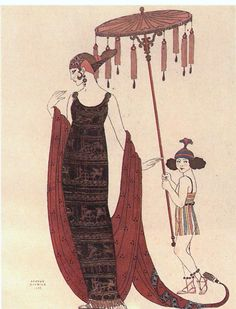 """""""Salabaccha"""" by Georges Barbier, 1927."""