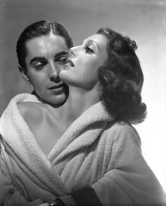 Photographers Gallery - Loretta Young & Tyrone Power by George Hurrell