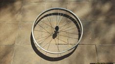 Repurpose a Bicycle Wheel to Make a Gorgeous Wall Hanging