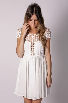 lovelovelove seriously perfection I need this dress! Boho Outfits, Pretty Outfits, Cute Outfits, Fashion Outfits, Style Guides, Dress Up, Lace Dress, Passion For Fashion, Dress To Impress