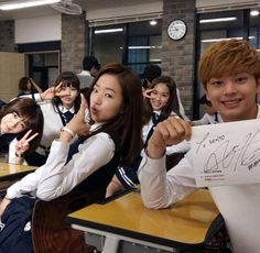 School 2015 Who Are You Korean Celebrities, Korean Actors, Asian Actors, K Pop, Kim So Hyun Fashion, Who Are You School 2015, Two Worlds, Best Kdrama, Sungjae Btob