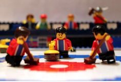 Vancouver 2010 Norway Curling Team by Matija Puzar