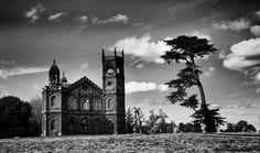 The Gothic Temple at Stowe Landscape gardens