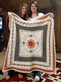 Last week I had presented a number of crocheted blankets and was expecting a very warm response from your side, but many among you have already made complaint that there were some of the most difficult patterns that really made you scared. Well, as promised, I have to take care of all of your concerns …