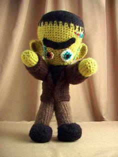 """Free pattern for """"Frankenstein's Monster""""!"""