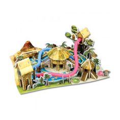 Paper Toy Scale Model Kit for Kids Adult - Amazon Jungle Exploration