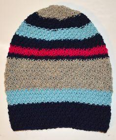 Garnstikka: VM-lue 2016, lookalike tynt garn. Look Alike, Knitted Hats, Beanie, Knitting, Fashion, Threading, Moda, Tricot, Knit Caps