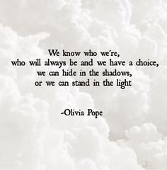 I'm just in love with that quote #oliviapope #scandal #quotes #quoteschoices #choices