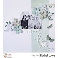 Kaisercraft Morning Dew layout Love You by Rachel Lowe - Kaisercraft Morning Dew layout Love You Hey everyone here is my second share my Kaisercraft Morning Dew layout Love You. 8x8 Scrapbook Layouts, Scrapbook Sketches, Scrapbook Pages, Scrapbooking Ideas, Craft Cupboard, Cupboard Design, Anna Craft, Craft Projects, Projects To Try