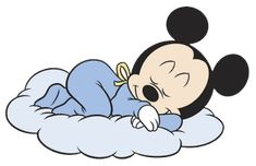 Baby Mickey Mouse Sleeping Baby mickey mouse