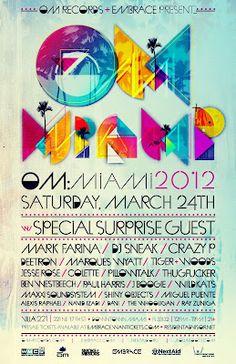 OM Miami poster