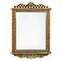 Thistle Mirror - Large - Mackensie Childs $3200