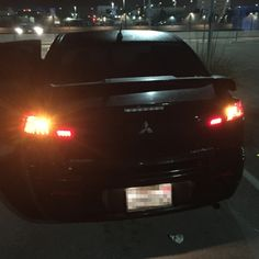 Brian's 2009 Mitsubishi Lancer with Smoked LED Tail Lights