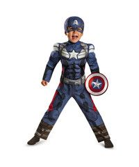 Captain America Winter Soldier Classic Muscle Toddler Costume $34.99 with free US shipping