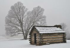 Winter at Valley Forge - Pixdaus